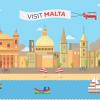 Tutto quello che (forse) ancora non sapevate su Malta in un'infografica