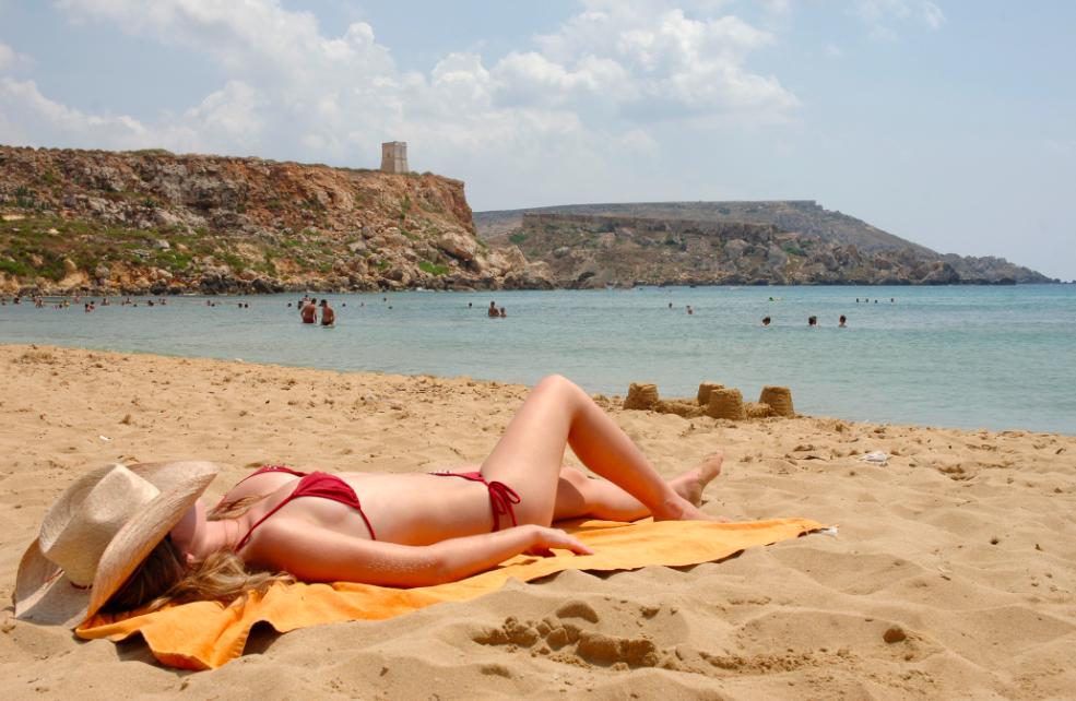 Le meravigliose spiagge sabbiose di Malta