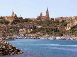 Mgarr Harbour, paesaggi di Malta