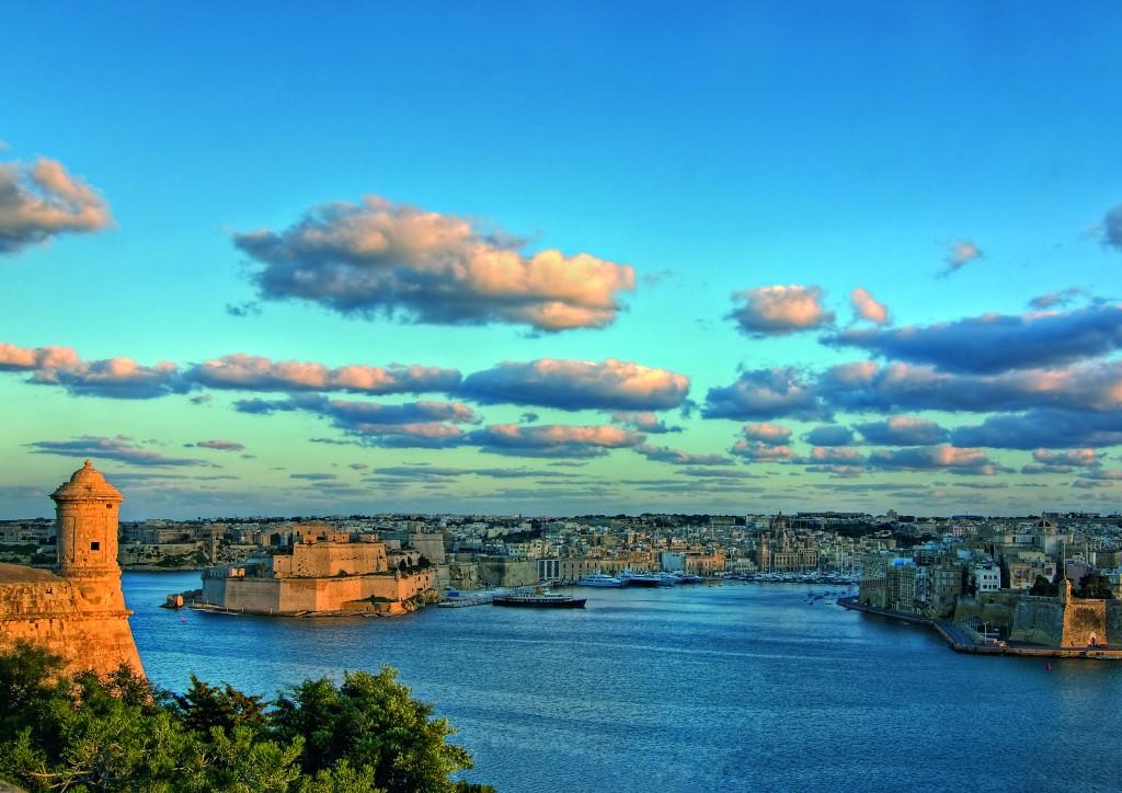 The Grand Harbour, paesaggi di Malta