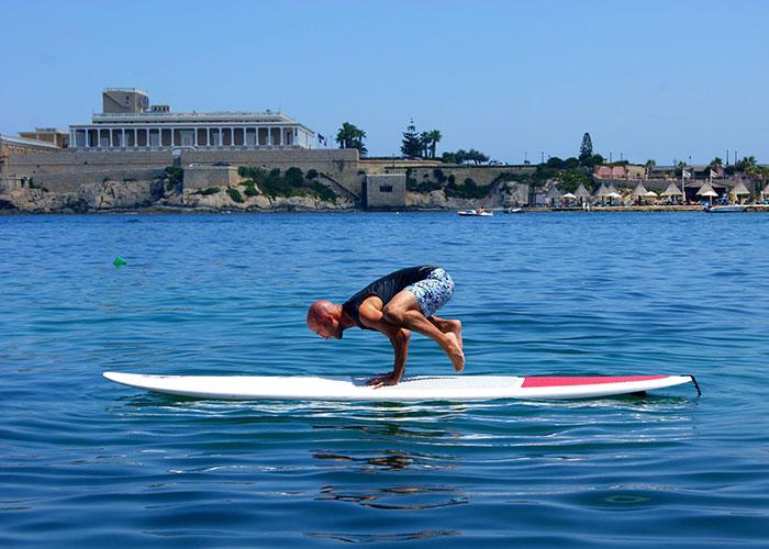 Sup Yoga a Malta, un'esperienza di sport e relax