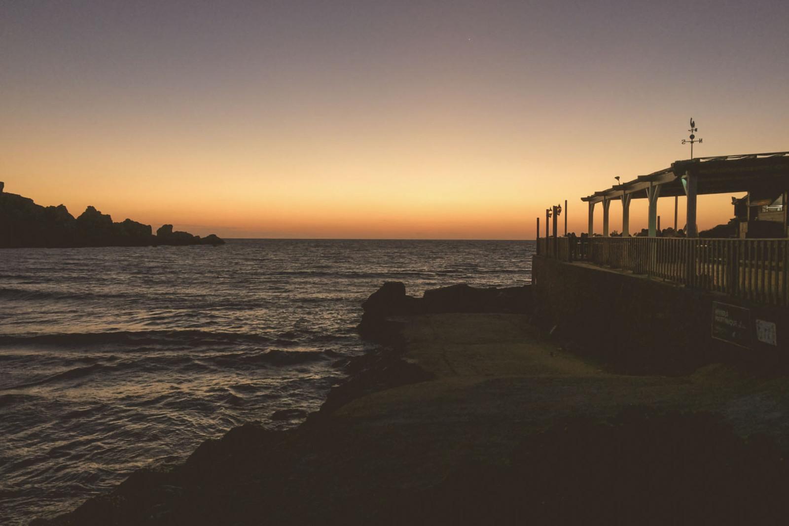 tramonto a Għajn Tuffieħa