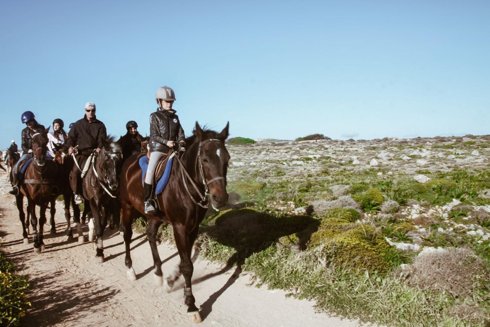 horse riding @ Il-Majjistral Nature Park_