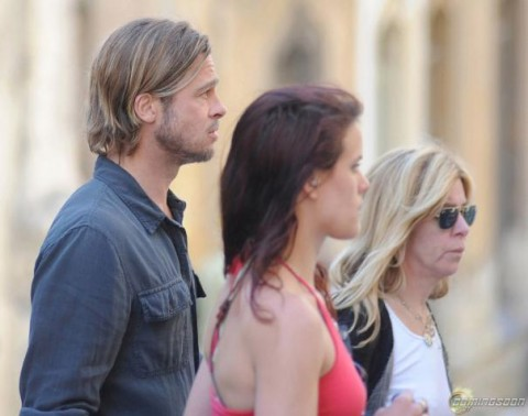 World War Z: Brad in Malta!
