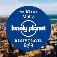 Best in Travel 2018: Malta tra le 10 destinazioni da non perdere per Lonely Planet
