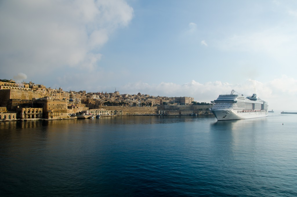 MSC Divina, Grand Harbour, Valletta, Malta Jazz Festival