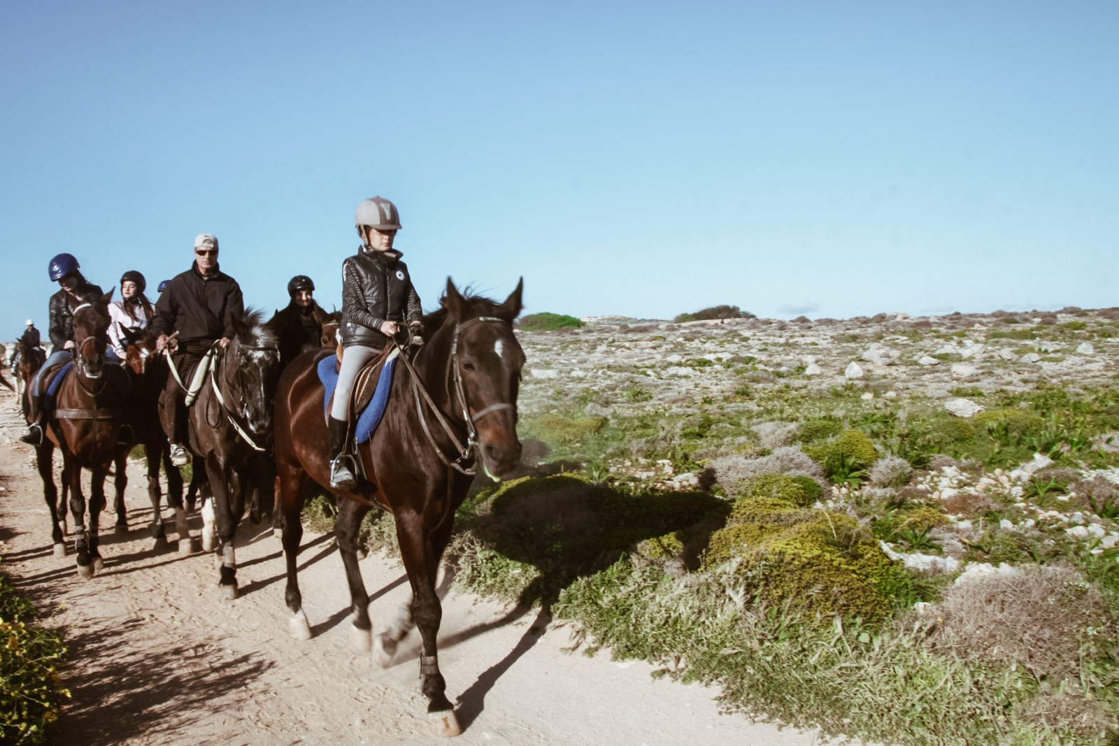 horse riding @ Il-Majjistral Nature Park_
