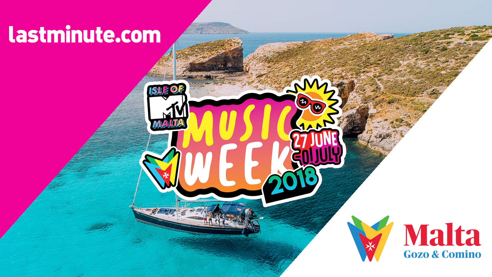 #TheSoundOfMalta: Lastminute.com e Visit Malta insieme all'Isle of MTV 2018